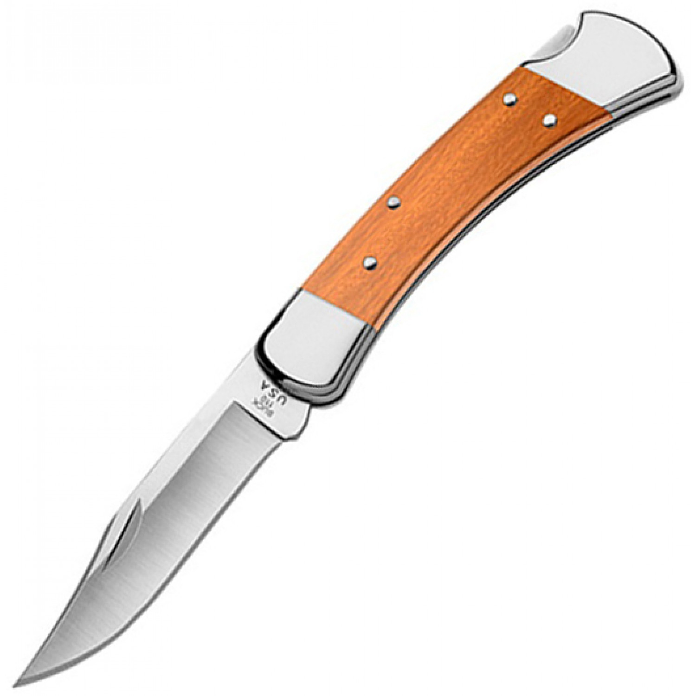 Фото 3 - Складной нож Buck Folding Hunter Oak Handle 0110OKS, сталь S30V, рукоять дерево