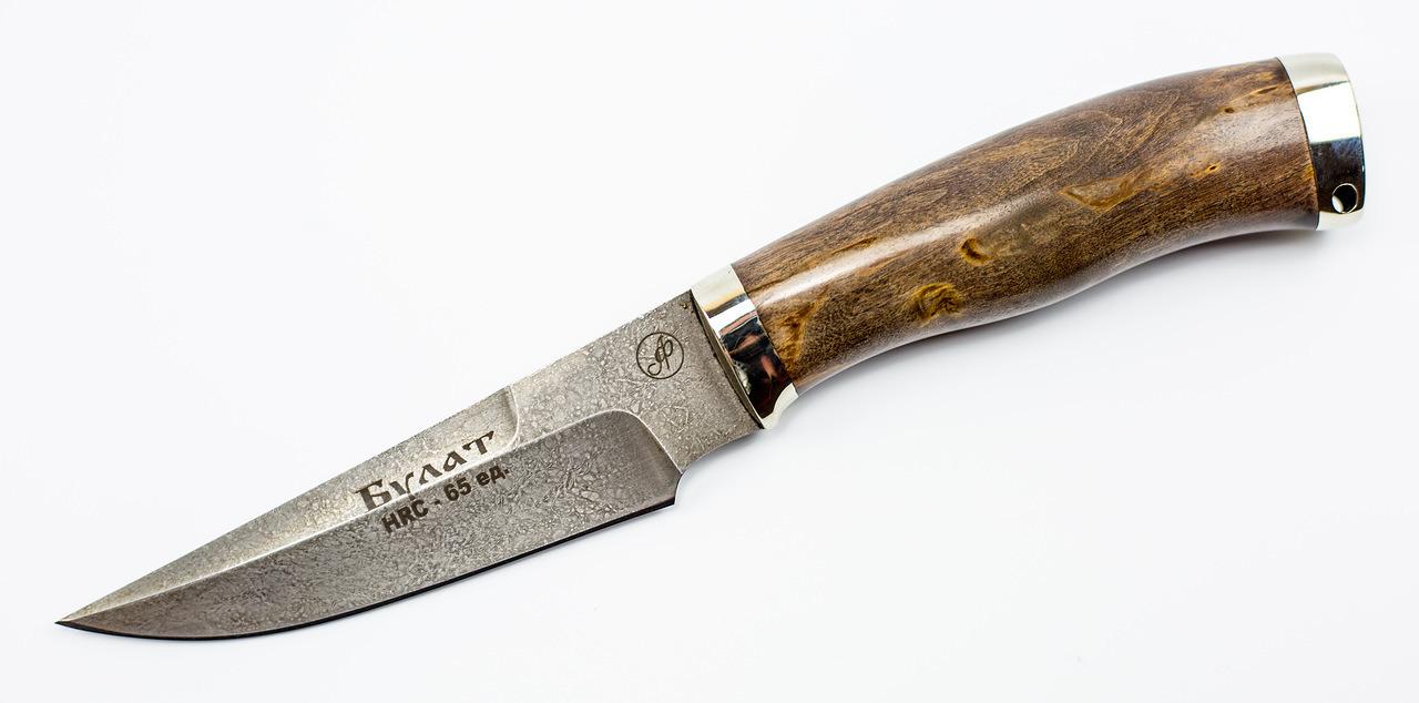 Нож Ворон, литой булат Баранова