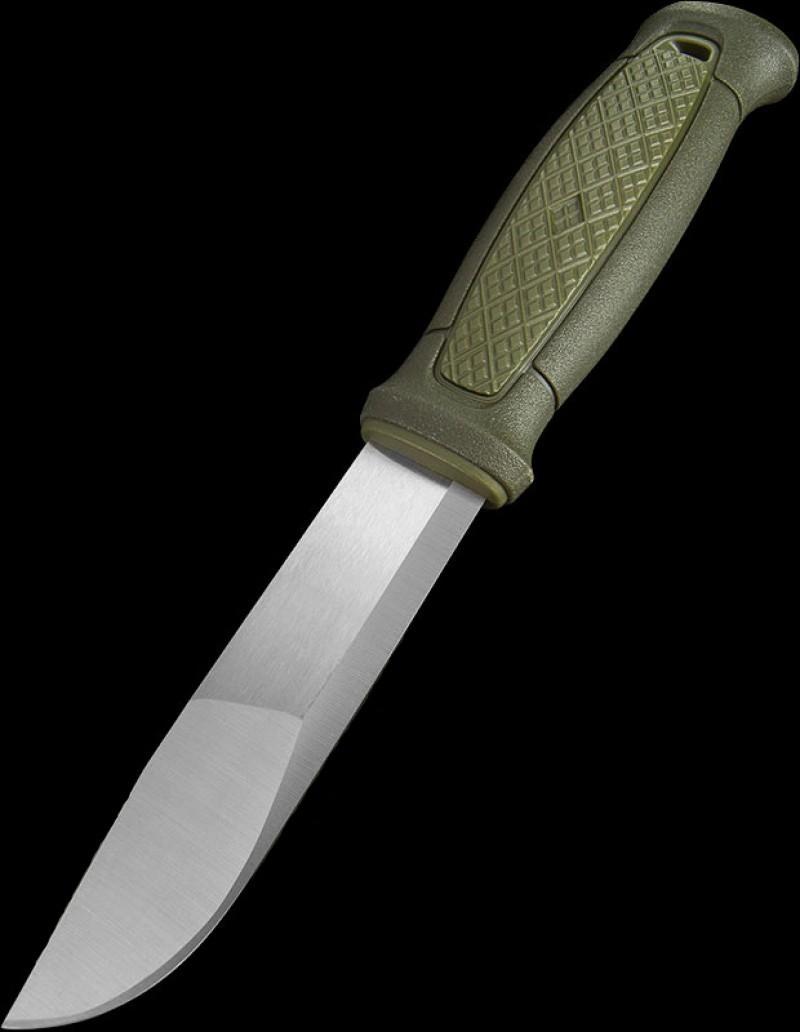 Фото 6 - Нож с фиксированным лезвием Morakniv Kansbol, сталь Sandvik 12C27, рукоять пластик