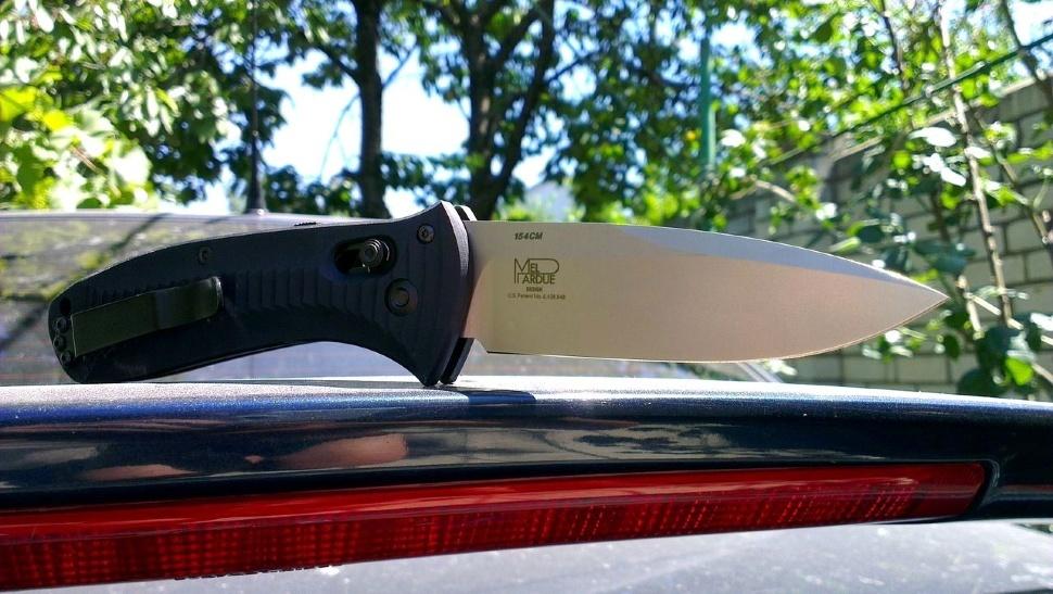 Фото 9 - Полуавтоматический нож Benchmade Presidio 5000, сталь 154CM, рукоять алюминий