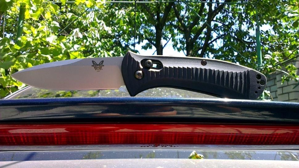 Фото 10 - Полуавтоматический нож Benchmade Presidio 5000, сталь 154CM, рукоять алюминий