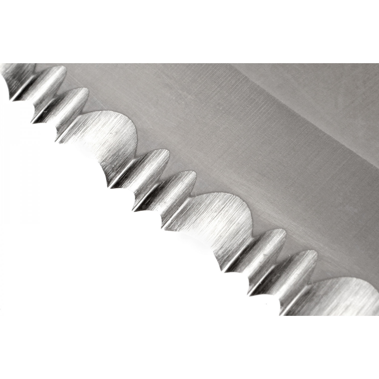 Фото 8 - Складной нож Spyderco Endura 4 - 10S, сталь VG-10 Satin Serrated (SpyderEdge™), рукоять нержавеющая сталь