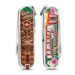 Нож перочинный Victorinox Classic Aloha Kakou, сталь X55CrMo14, рукоять Cellidor®, фото 3
