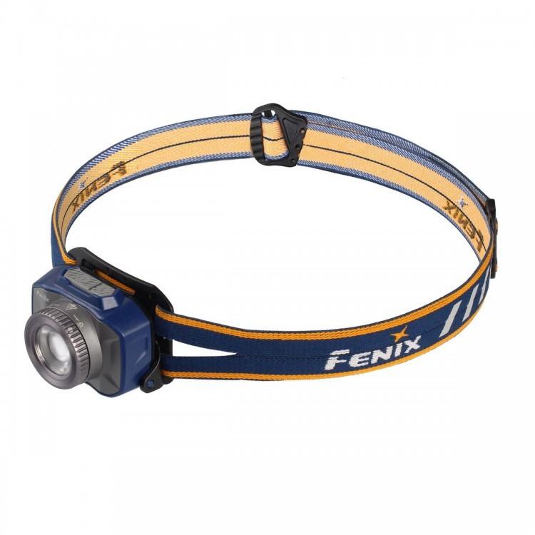 Налобный фонарь Fenix HL40R Cree XP-L HI V2, синий фонарь fenix ld15r cree xp g3