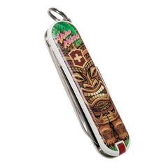 Нож перочинный Victorinox Classic Aloha Kakou, сталь X55CrMo14, рукоять Cellidor®, фото 7