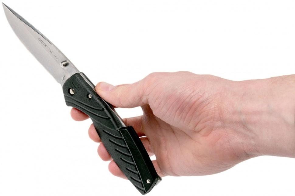 Фото 3 - Складной нож Buck Rival III 0366BKS, сталь 420HC, рукоять нейлон