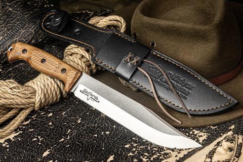 Нож туристический Bastardo 420HC TW, Kizlyar Supreme. Вид 5