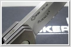 Нож складной Mini Kwaiken Titanium Folder (IKBS® Flipper) - Boker 01BO290, сталь VG-10 Satin, рукоять титан, фото 12