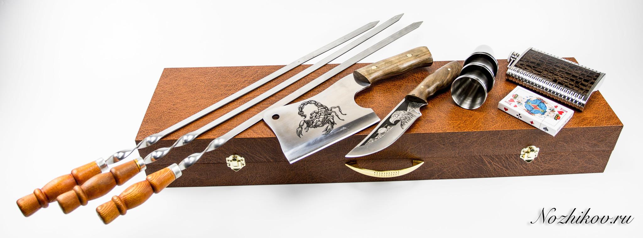 Фото 8 - Шашлычный набор Боярский №2, Кизляр от Кизляр СТО