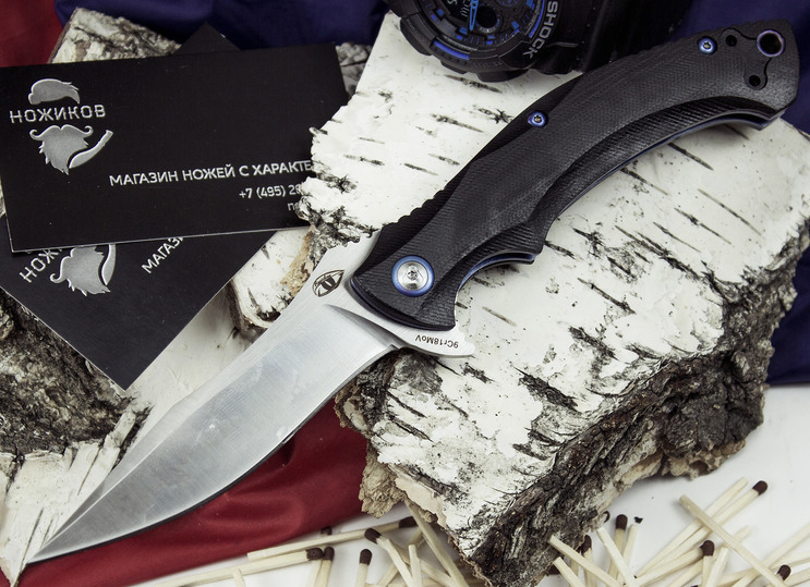 Фото - Складной нож Чекан складной нож карат 1