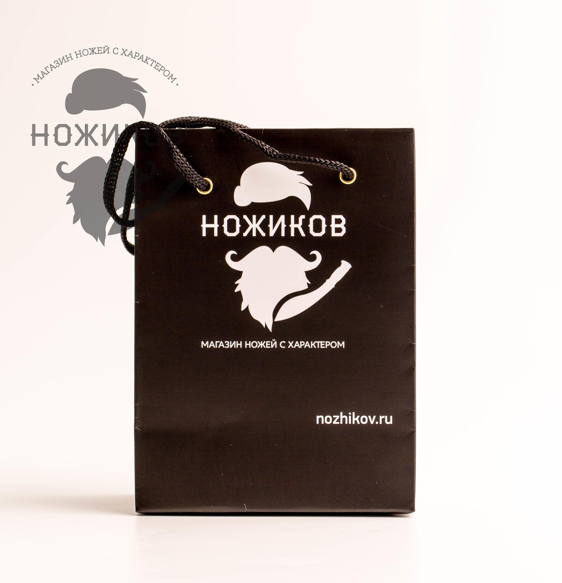 Подарочный пакет для складного ножа от Nozhikov