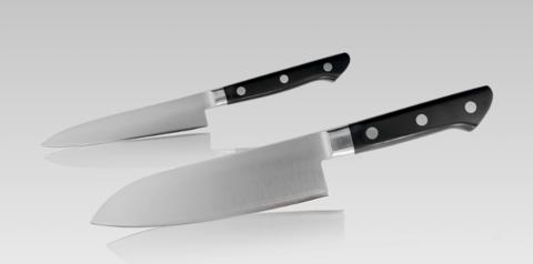 Набор из 2-х кухонных ножей Tojiro GIFTSET, сталь VG10. Вид 3
