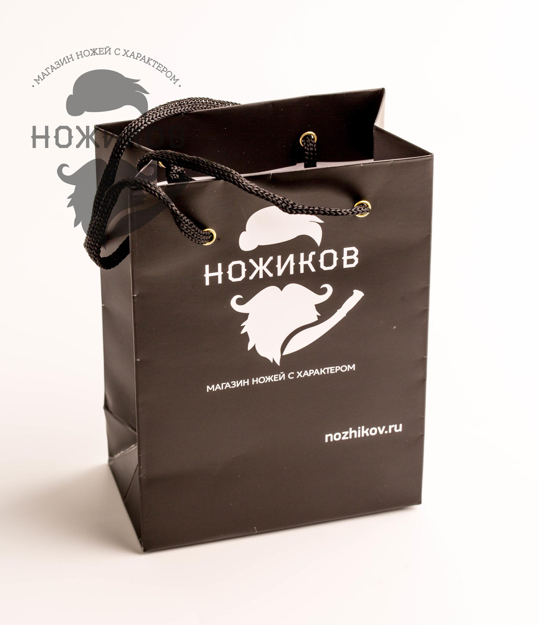 Фото 7 - Подарочный пакет для складного ножа от Nozhikov