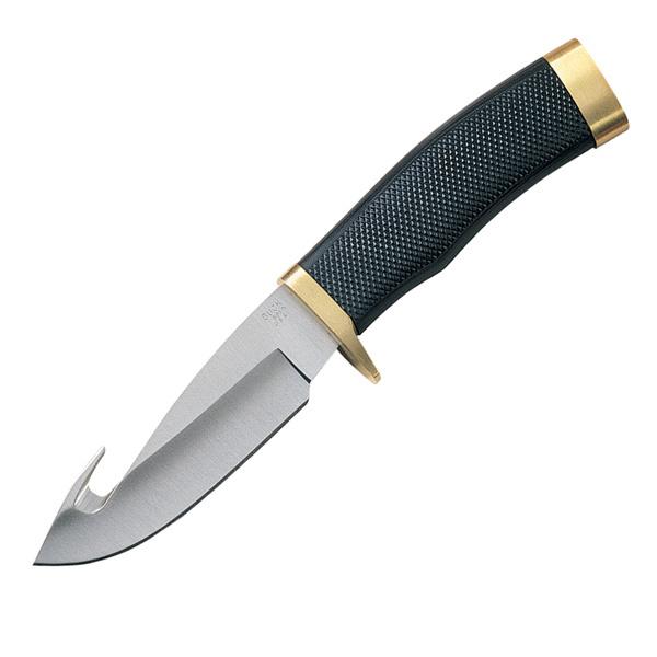 Фото 5 - Нож туристический 691 Zipper™ - BUCK 0691BKG, сталь 420HC, рукоять синтетическая резина Alcryn® Rubber