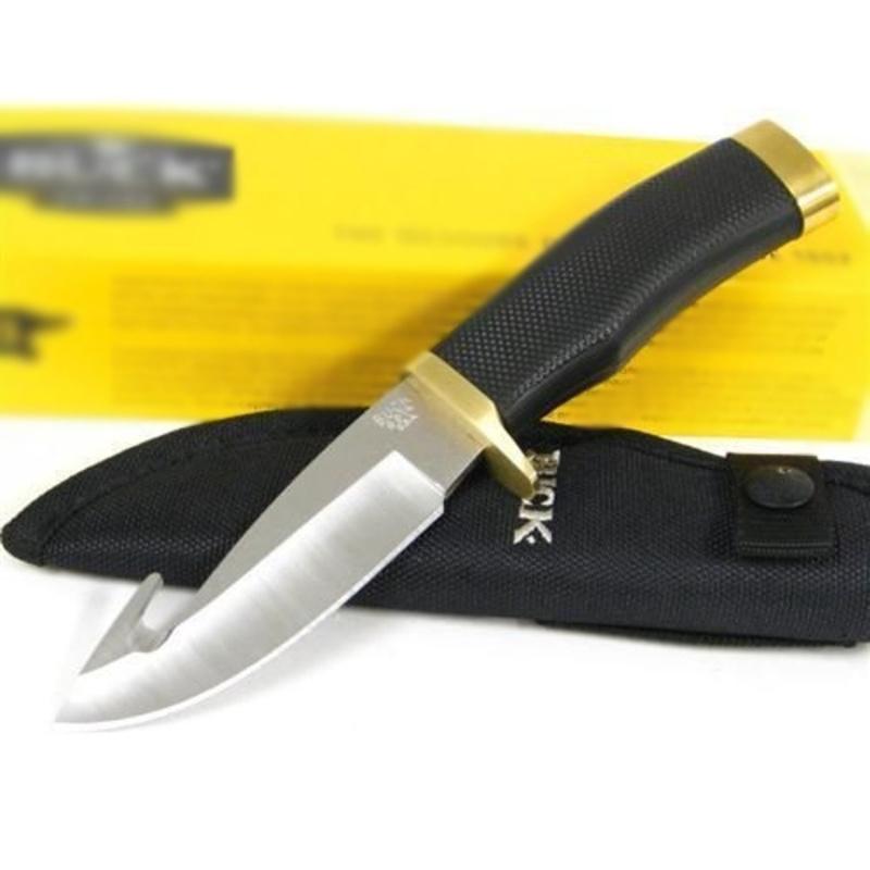 Фото 7 - Нож туристический 691 Zipper™ - BUCK 0691BKG, сталь 420HC, рукоять синтетическая резина Alcryn® Rubber