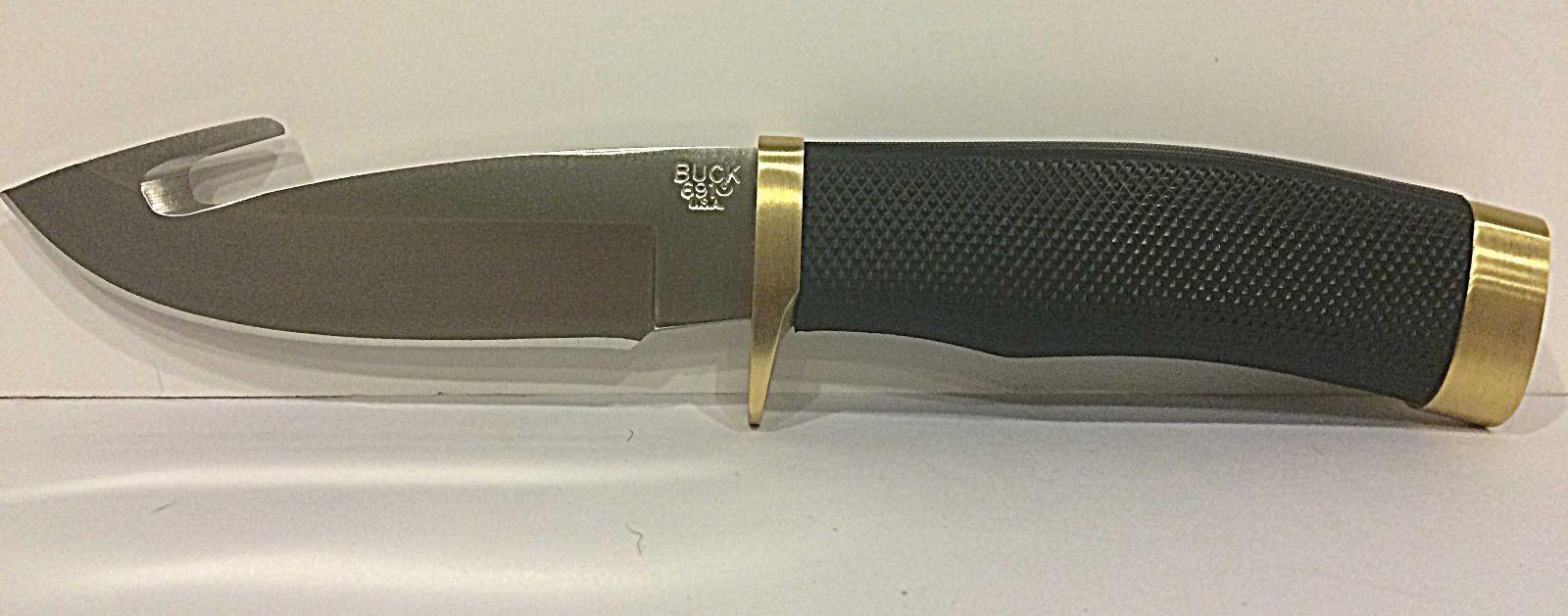 Фото 10 - Нож туристический 691 Zipper™ - BUCK 0691BKG, сталь 420HC, рукоять синтетическая резина Alcryn® Rubber