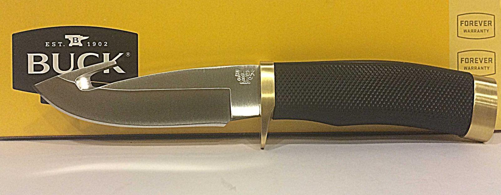 Фото 12 - Нож туристический 691 Zipper™ - BUCK 0691BKG, сталь 420HC, рукоять синтетическая резина Alcryn® Rubber