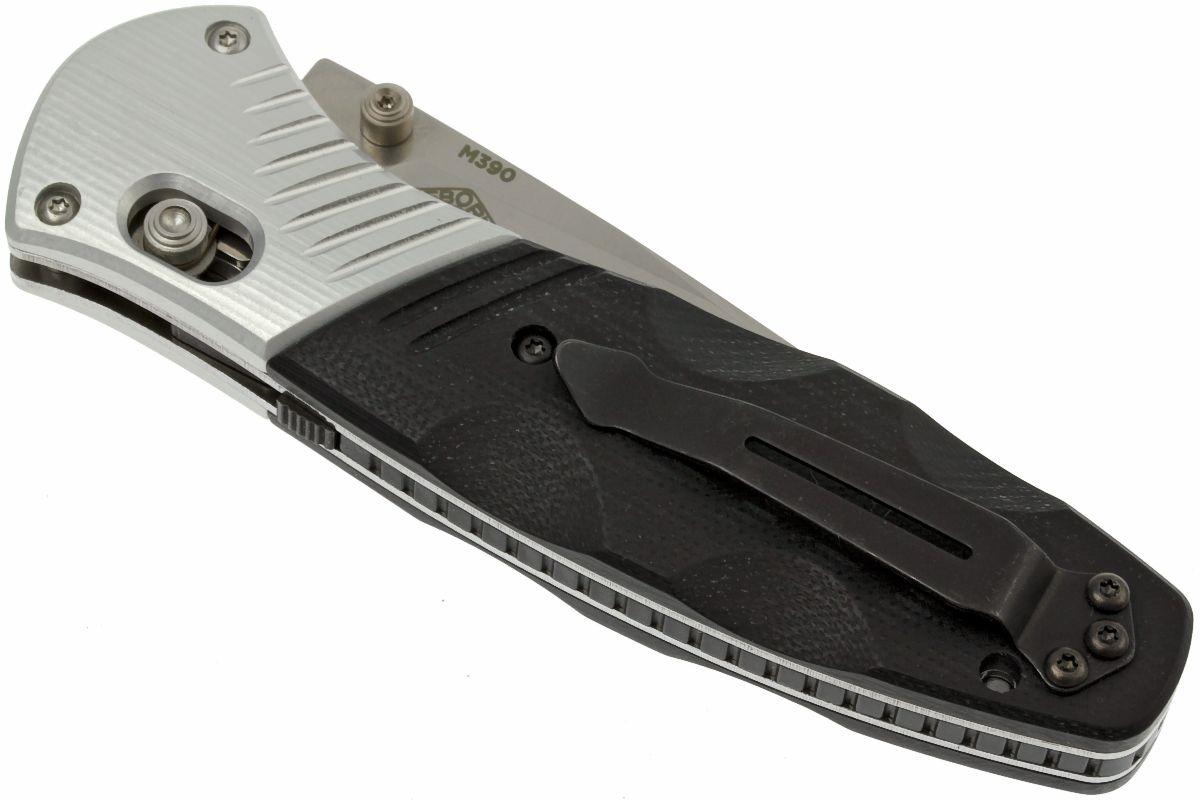 Фото 9 - Полуавтоматический нож Barrage 581, сталь M390, рукоять алюминий от Benchmade