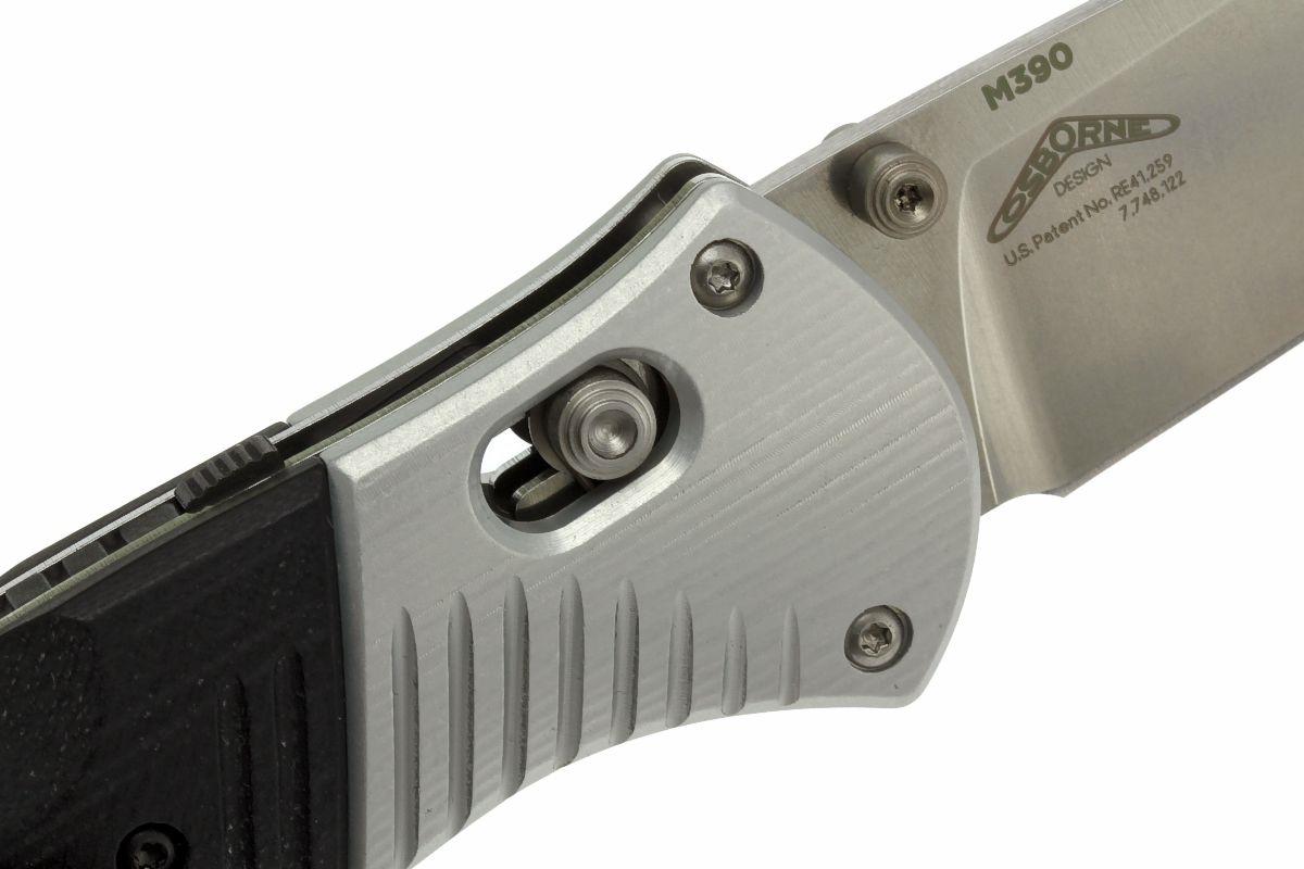 Фото 12 - Полуавтоматический нож Barrage 581, сталь M390, рукоять алюминий от Benchmade