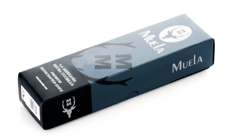 Фото 7 - Нож c фиксированным клинком, COLIBRI, Muela, U/COL-9R, сталь Inox-1-42-MOVA-60E, с чехлом