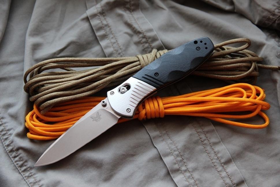Фото 7 - Полуавтоматический нож Barrage 581, сталь M390, рукоять алюминий от Benchmade