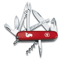 Нож перочинный Victorinox Angler, сталь X55CrMo14, рукоять Cellidor®, красный, фото 2