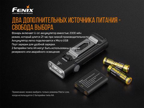 Фонарь Fenix WT20R, 400 лм. Вид 8