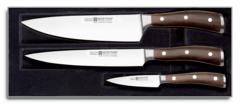 Набор кухонных ножей 3 шт. 9600 WUS, серия Ikon
