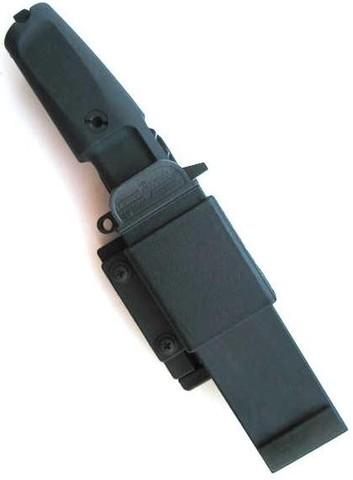 Нож с фиксированным клинком Extrema Ratio Fulcrum Combat Plain Edge, сталь Böhler N690, рукоять пластик. Вид 3