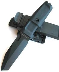 Нож с фиксированным клинком Extrema Ratio Fulcrum Combat Plain Edge, сталь Böhler N690, рукоять пластик, фото 4