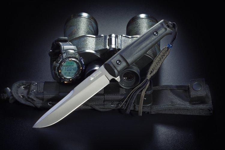 Тактический нож Alpha AUS-8 GT, Kizlyar Supreme emersongear 094k m4 чехол тактический жилет body armor plate carrier molle система охота airsoft combat security skirmish em7356a