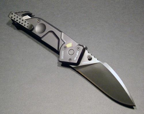 Складной нож Extrema Ratio MF1 Black With Belt Cutter, сталь N690, рукоять алюминий
