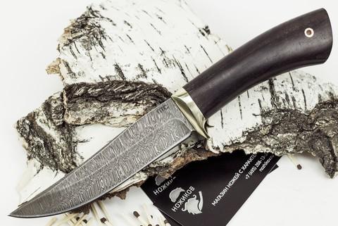 Нож Лис-2, дамасская сталь - Nozhikov.ru