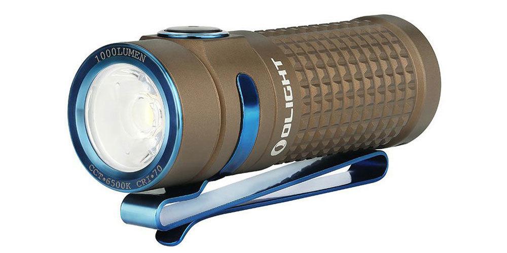 Фонарь Olight S1R Baton I DESERT TAN CW зарядное устройство olight omni dok new
