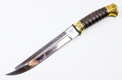 Нож Пластунский, 95х18 х/л, крепление на бедро
