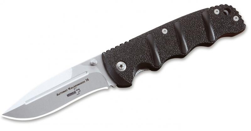 Фото 3 - Складной нож Boker Plus KAL-74, сталь AUS-8 Bead Blast Plain, рукоять анодированный алюминий, 01KAL74