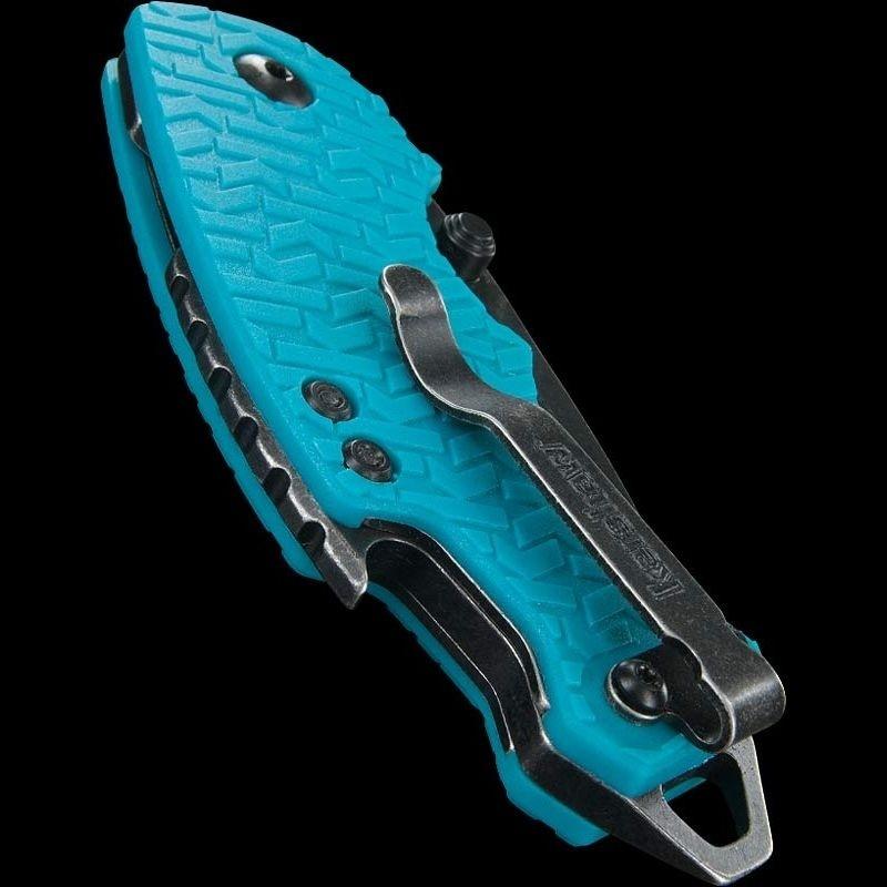 Фото 8 - Нож складной Shuffle - KERSHAW 8700TEALBW, сталь 8Cr13MoV c покрытием BlackWash™, рукоять текстурированный термопластик GFN бирюзового цвета