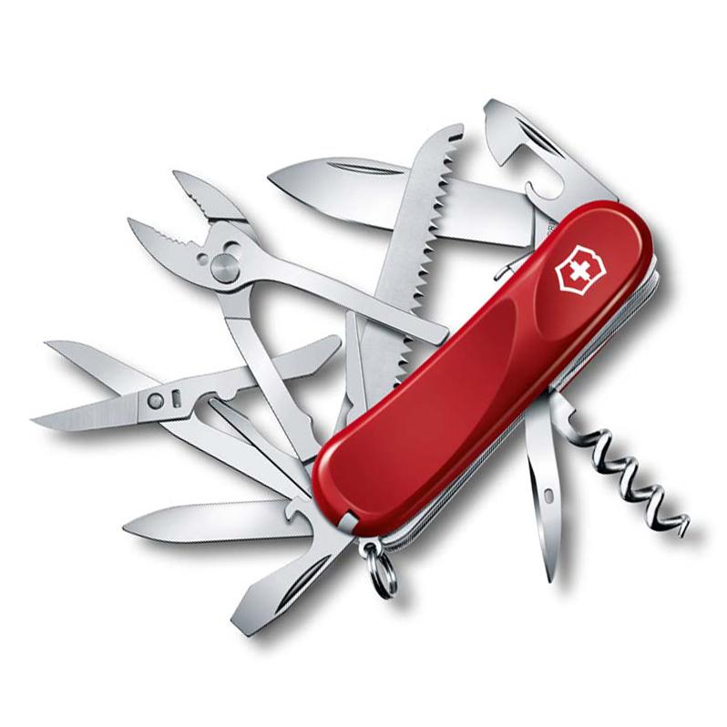 Нож перочинный Victorinox Evolution S52, сталь X50CrMoV15, рукоять нейлон, красный европа нож перочинный victorinox evolution s14 2 3903 se