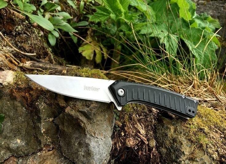 Фото 9 - Складной полуавтоматический нож Kershaw Entropy K1885, сталь 8Cr13MoV, рукоять пластик