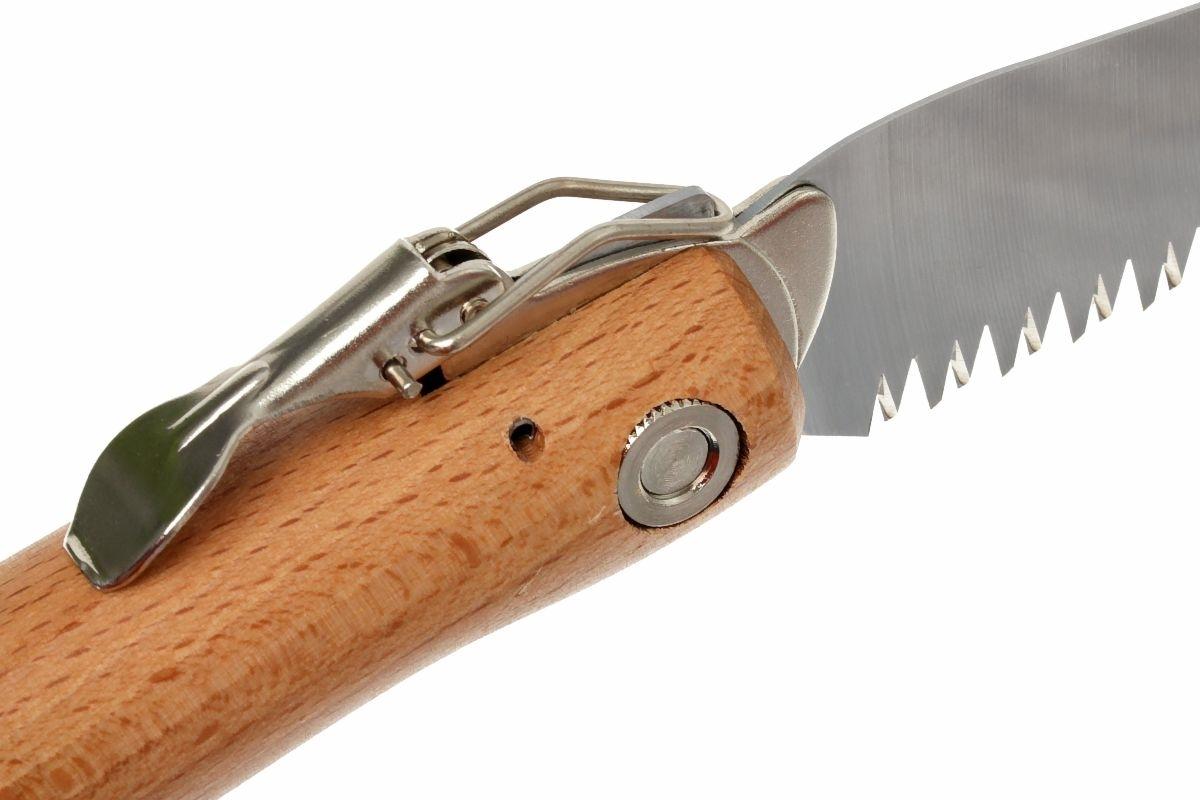Фото 10 - Пила Opinel складная №18, сталь Sandvik 12С27, рукоять бук, блистер, 000687
