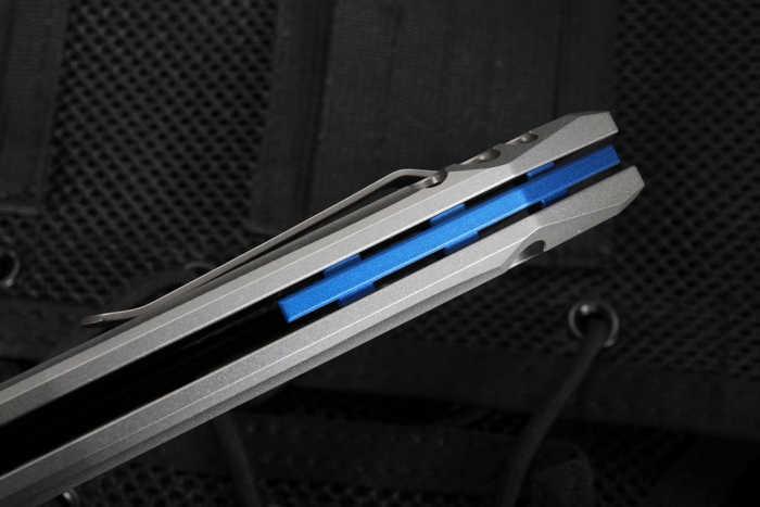 Фото 12 - Нож складной ZT 0055 Gus T. Cecchini, сталь CPM-S35VN, рукоять титан от Zero Tolerance