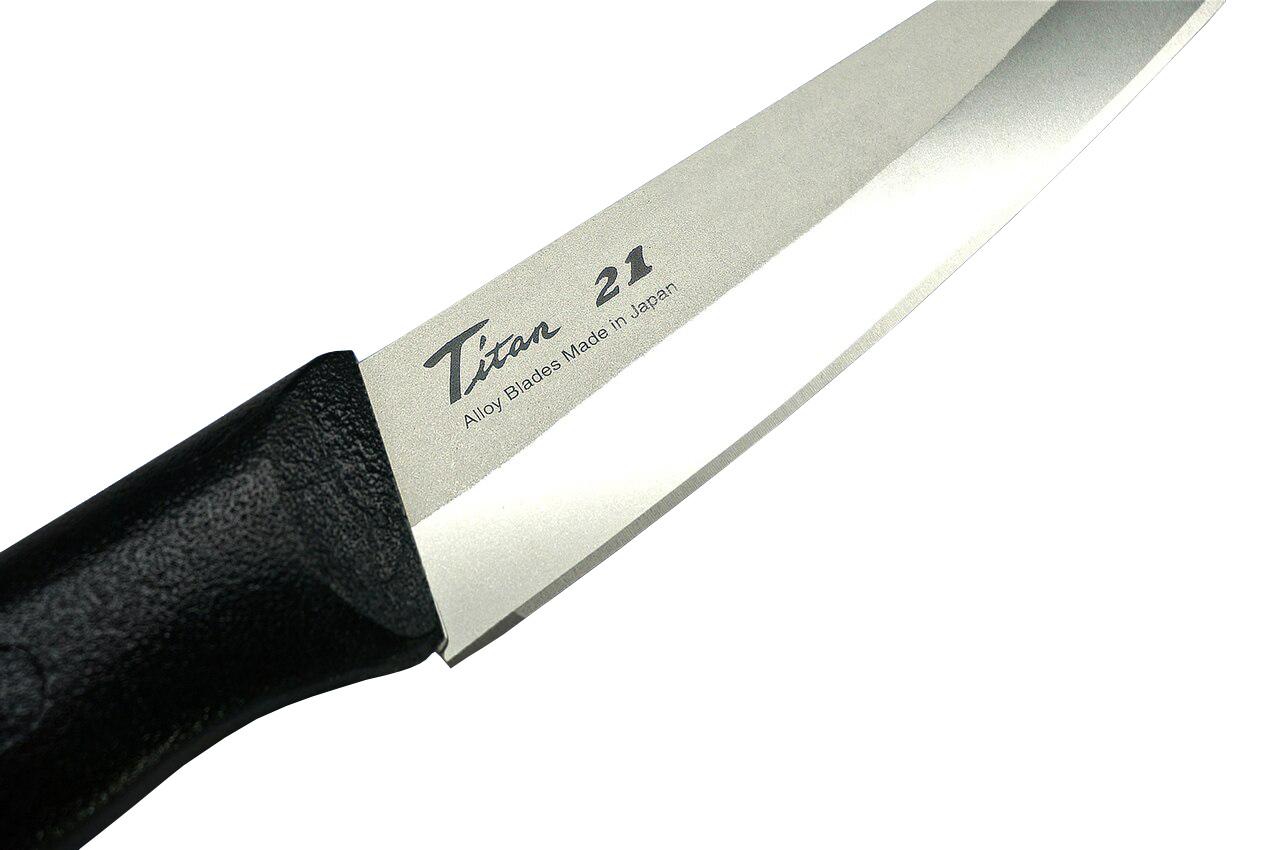 Фото 3 - Нож Кухонный Универсальный Titanium, Forever, GRT-12, Титан