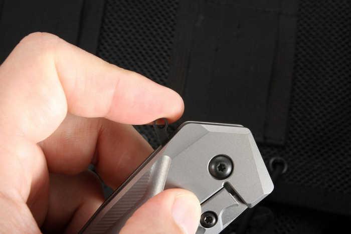 Фото 13 - Нож складной ZT 0055 Gus T. Cecchini, сталь CPM-S35VN, рукоять титан от Zero Tolerance