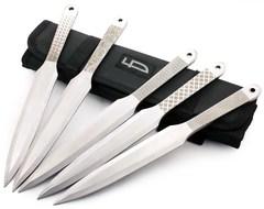 Набор из 5 метательных ножей Орнамент, M-132SU