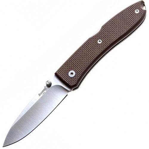 Фото - Нож складной Lionsteel Big Opera 8810 SN, сталь D2, рукоять G-10, коричневый от Lion Steel
