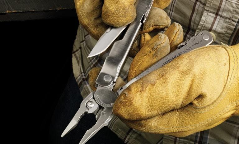 Фото 8 - Мультитул Leatherman Super Tool 300 серебристый 19 функций 115 мм