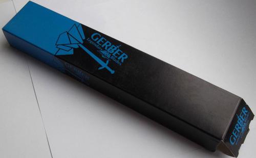 Фото 5 - Нож с фиксированным клинком Fantoni, Gerber RM Limited, FAN/C/LSR, сталь Bohler N-690, в картонной коробке