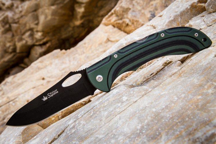 Складной нож Dream 440C BT, микарта, Kizlyar Supreme