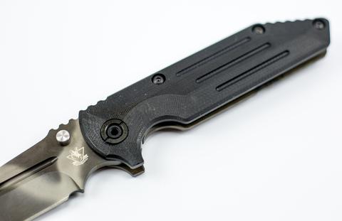 Складной тактический нож TAD 02, сталь D2. Вид 2