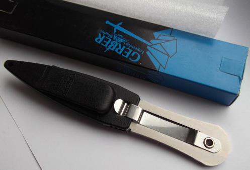 Фото 6 - Нож с фиксированным клинком Fantoni, Gerber RM Limited, FAN/C/LSR, сталь Bohler N-690, в картонной коробке
